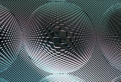 Picture of luminous texture 3D as created for Luminous Concepts by Luximprint additive fabrication technology