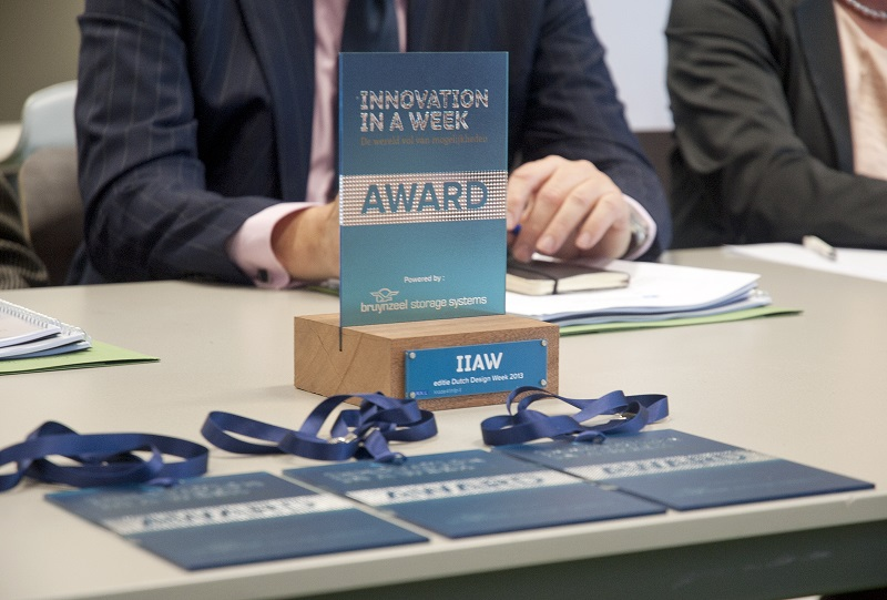 Picture of Luximprint Optographix Award for Dutch Design Week 2013 - Innovation in a Week Competition