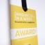 Picture of Innovation in a Week Award 2013 printed by Luximprint