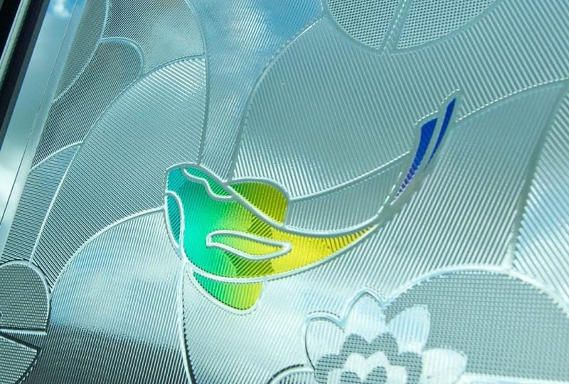 Picture of Luximprint Koi Carp Light Art