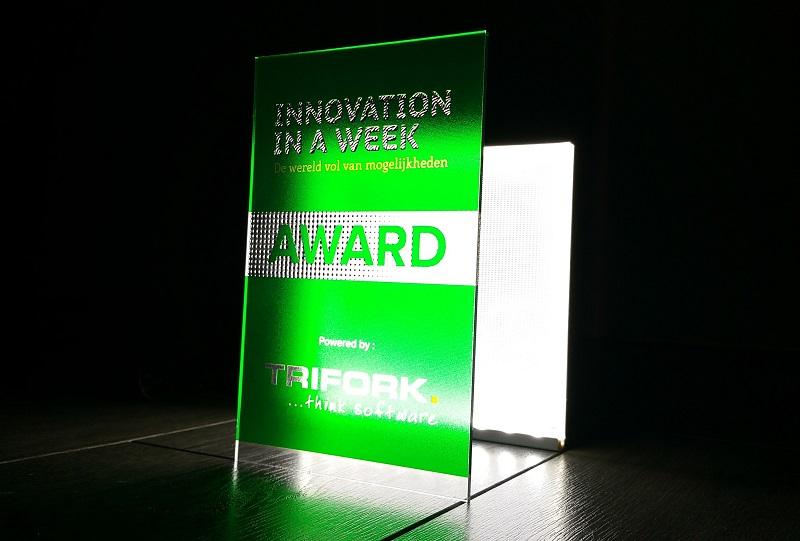 Picture of Luximprint Optographix Innovation in a Week 2014 Award Trifork