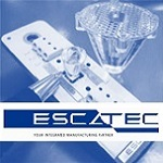 Logo of Escatec for Luximprint Inspiration intro page testimonial