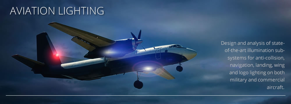 Picture of aviation lighting by CAD+ for Luximprint Optics Designer Hub