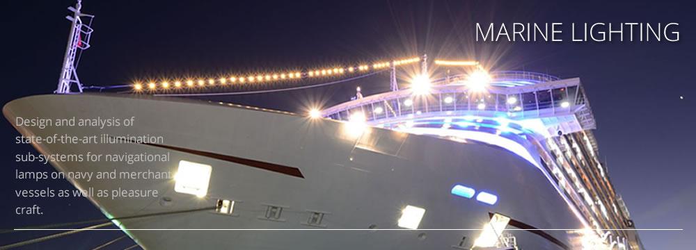 Picture of marine lighting by CAD+ for Luximprint Optics Designer Hub