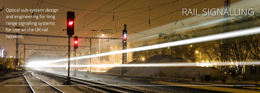 Picture of railway and signal lighting by CAD+ for Luximprint Optics Designer Hub