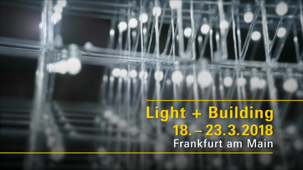 Image composition of Light Building 2018 Frankfurt for Luximprint event pages