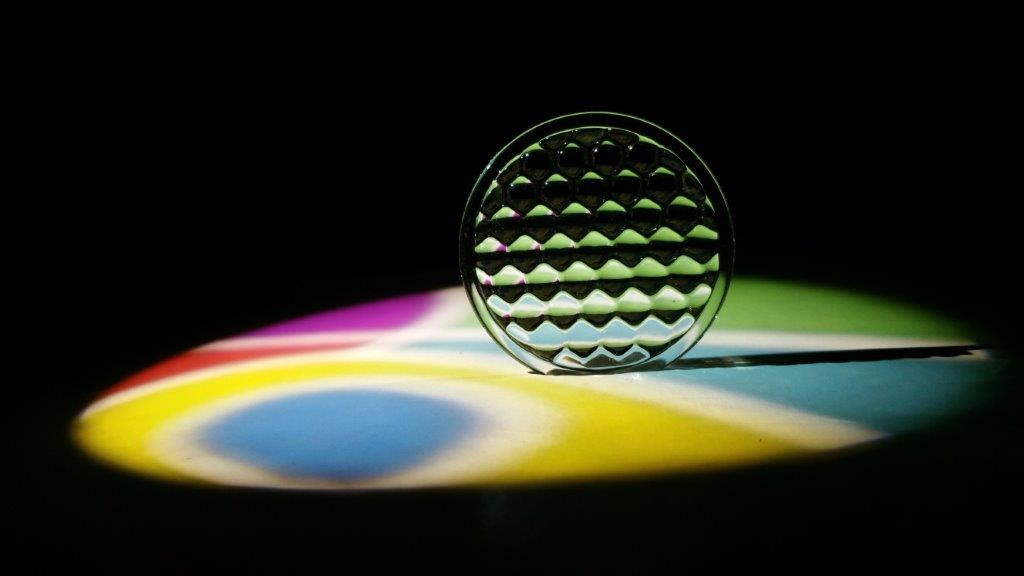 Image of flys eye stage lighting optic by Luximprint