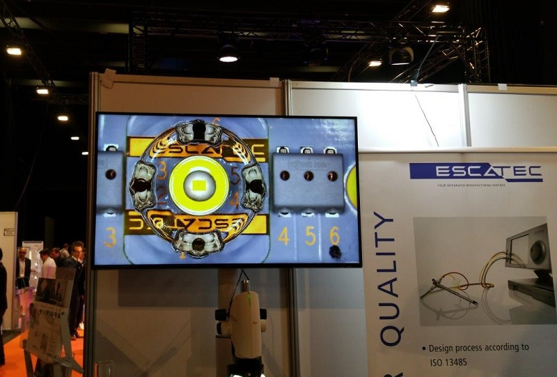 Image of ESCATEC Show Demonstrator for LpS 2016