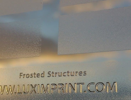 Available Now: 3D Printing Frosted Finishes