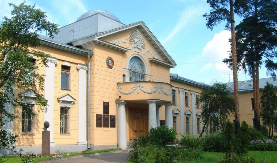 Picture of the Ioffe Institute in St. Petersburg, Russia