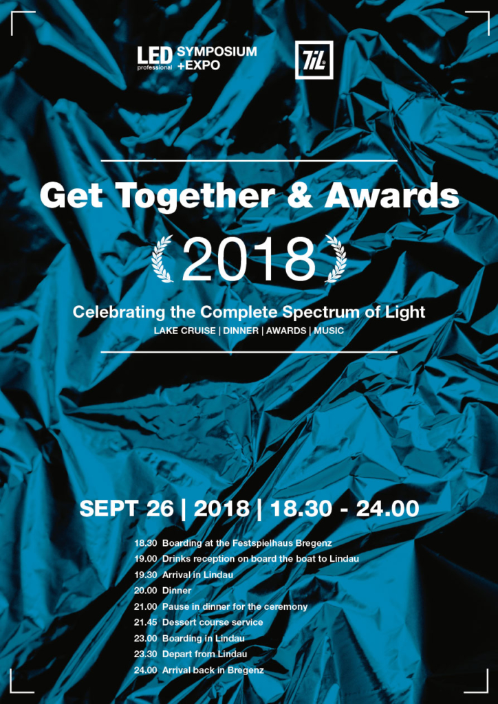 Program for the LPS / TIL 2018 Awards