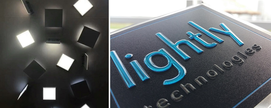 Image of Lightly LED panels and Luximprint Optographix for LuxLive 2018 event update