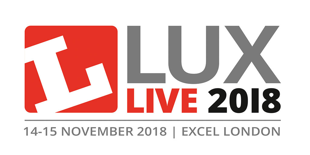 Logo of LuxLive 2018 Excel London