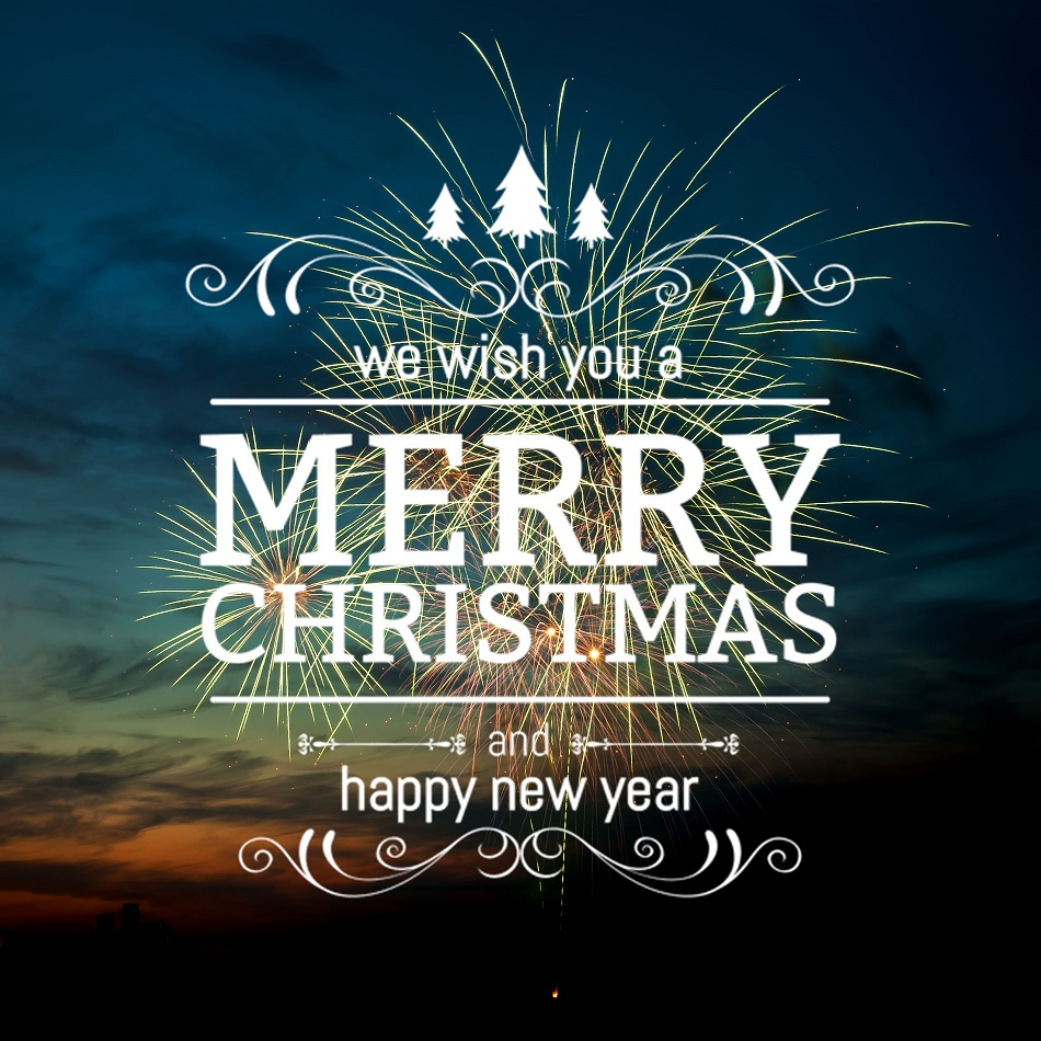 Image of Merry Christmas and Happy New Year by Luximprint