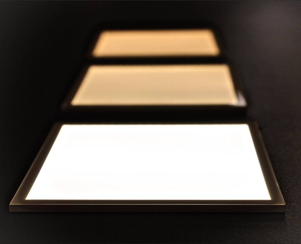 Image of Hikari SQ Light Modules by Lightly in different color temperatures.