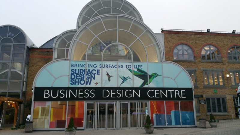 Image of main entrance of the Business Design Centre in London, UK