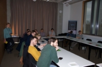 Image of European Master Students in Photonics at Ghent University.
