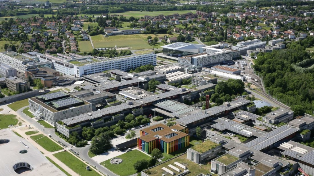 3D Image of EPFL Campus