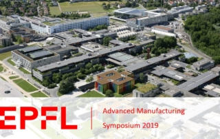 Header image banner for EPFL Advanced Manufacturing Symposium blogpost