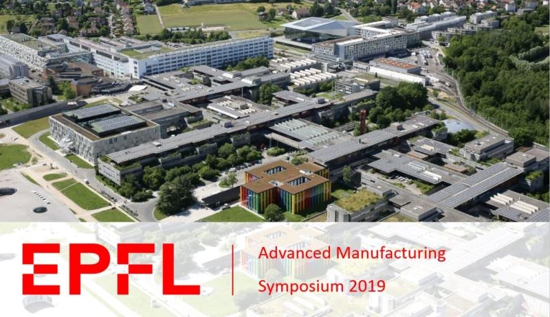 Header image banner for EPFL Advanced Manufacturing Symposium blogpost