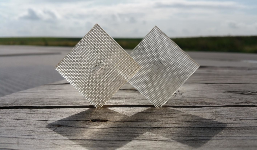 Image of 3D printed Facet Lenses
