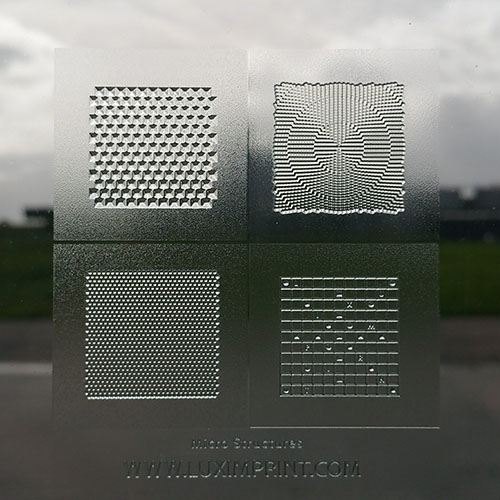 Image of 3D printed Luximprint Micro Grid Sample for the sample shop