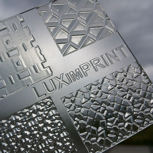 Image of 3D printed Optopatterns by Luximprint for the sample shop