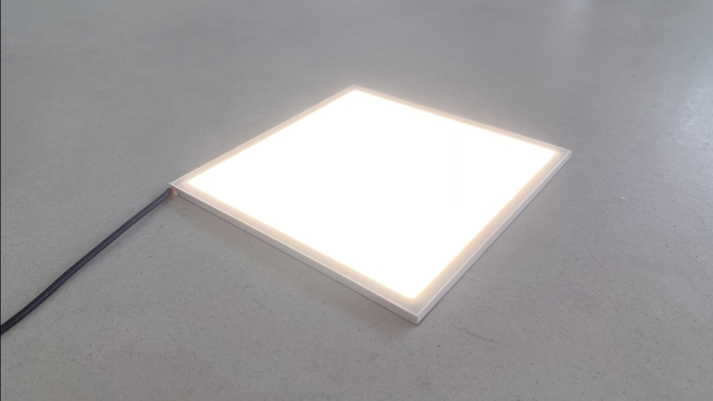 Image for use in blogpost on smart planar task light by SDA showing Lightly Technologies LED Module