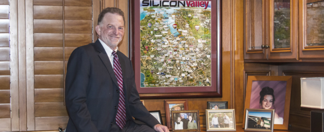 Image of Peter Silva at office for use in the news release on sales rep appointment California