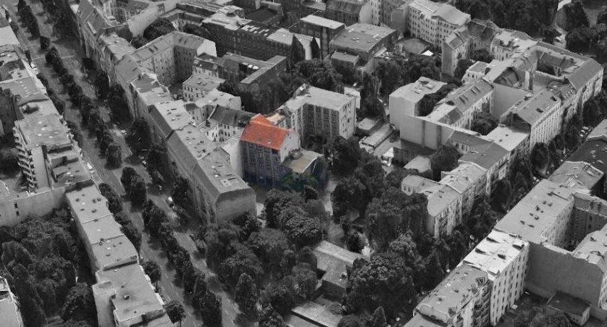 Aerial Impression of Studio-U - home of the 2020 Curious Lighting Eventt