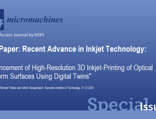 Micromachines: Recent Advances in Inkjet Technology