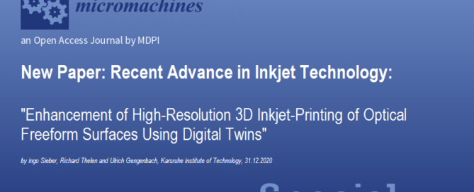 Header image for blogpost about featured research on optical 3D printing by KIT in Micromachines.