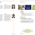 Image of index pages of EuroPhotonics magazine autumn 2021