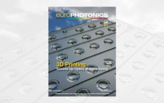 Header image for blogpost on 3D Printing of Optics Methodologies in EuroPhotonics