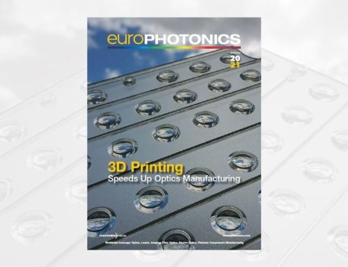 EuroPhotonics: Cover Story 3D Printed Optics