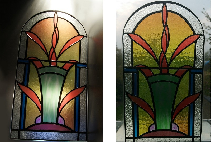 Picture of two Luximprint_Optographix_Stained Glass Replicas (Church Windows)
