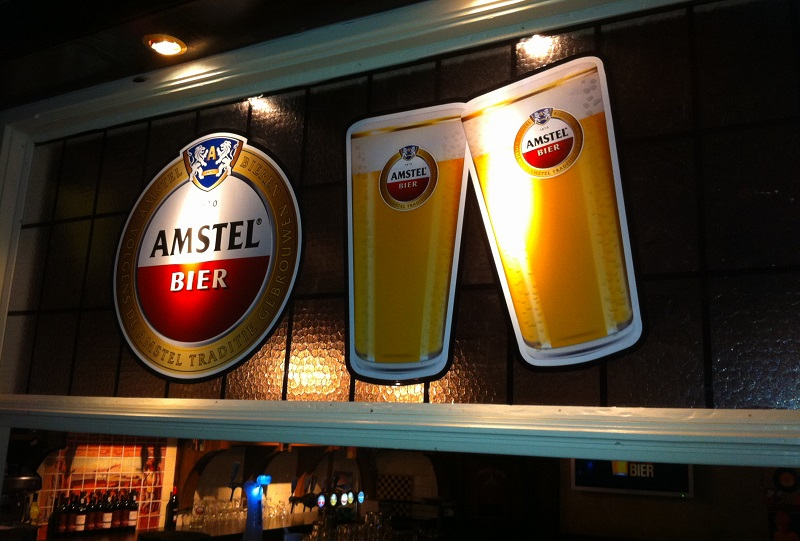 Image of 3D printed Amstel Stained Glass film for HHC by Beeldwerk Sign Support and Luximprint