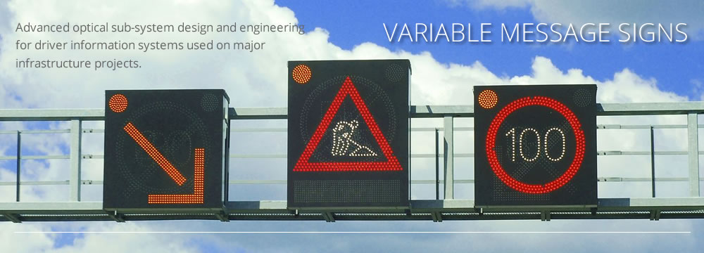 Picture of variable message signs by CAD+ for Luximprint designer hub