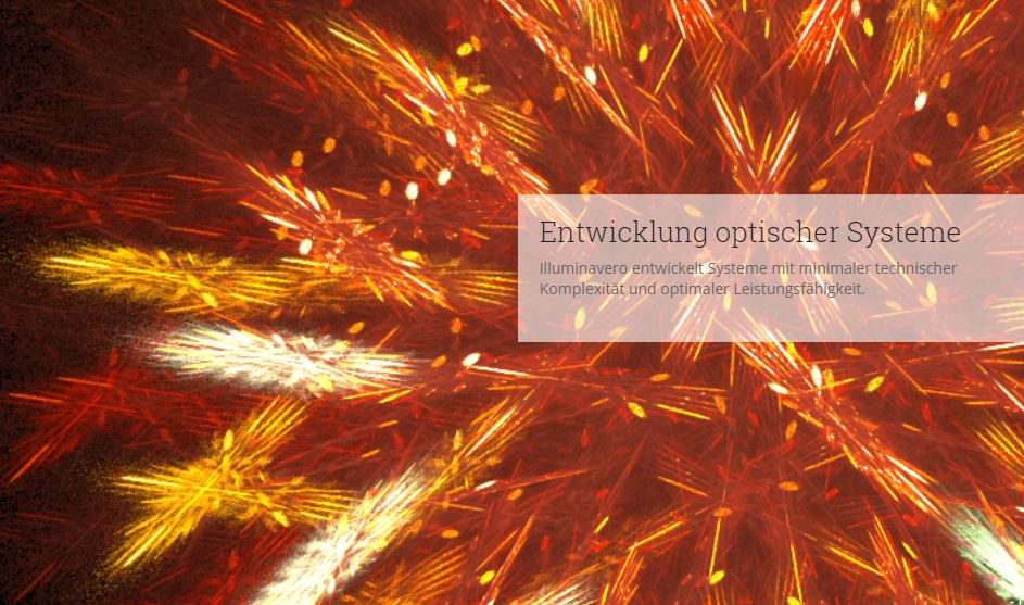Project Image of Illuminavero for Luximprint Optics Design Hub about Optical System Development