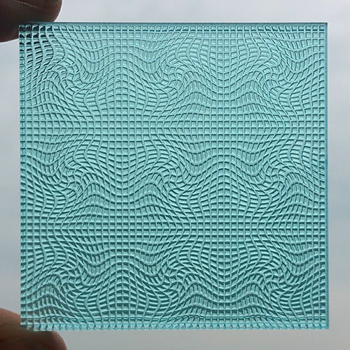 Image of Printed Texture Surface Sample for Luximprint Sample Shop