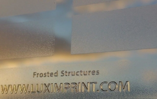 Blog header image for Frosted Finishes post