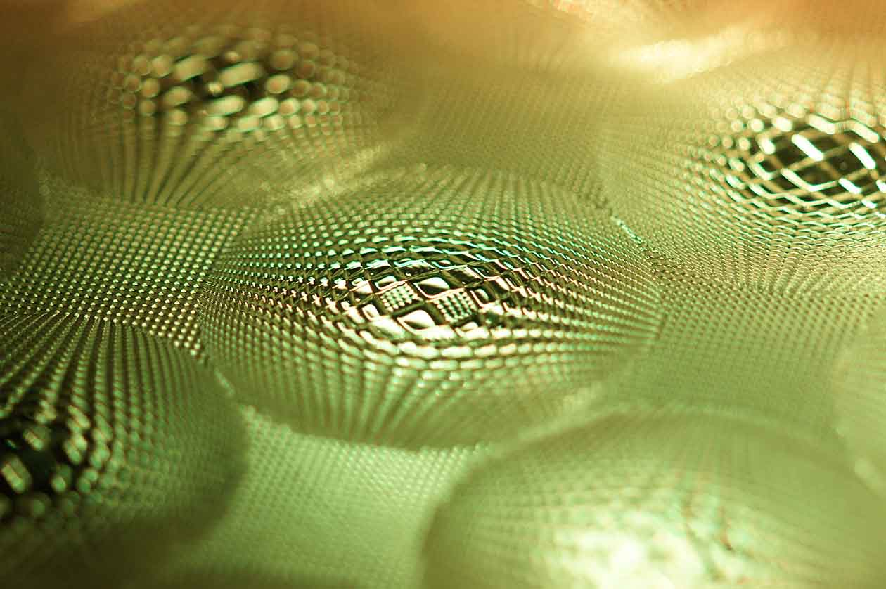 Image of yellow-green colored optical texture