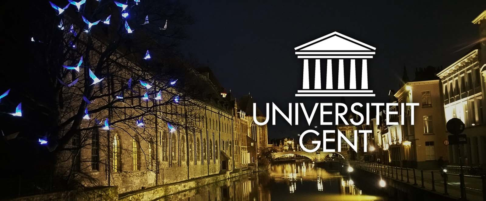 Image of Ghent City 2019 related to Luximprint blogpost about Photonics 2018 Event at Ghent University