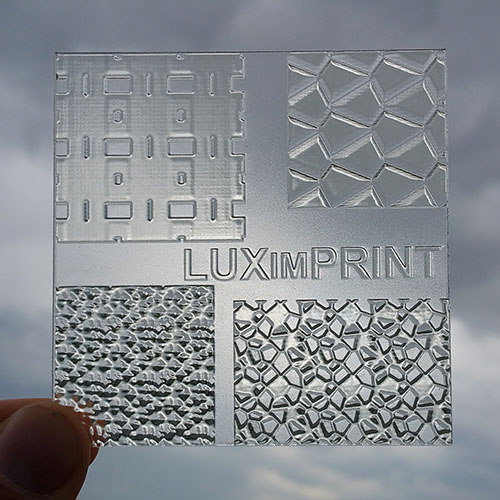 Main image of 3D printed Optopatterns by Luximprint for the sample shop