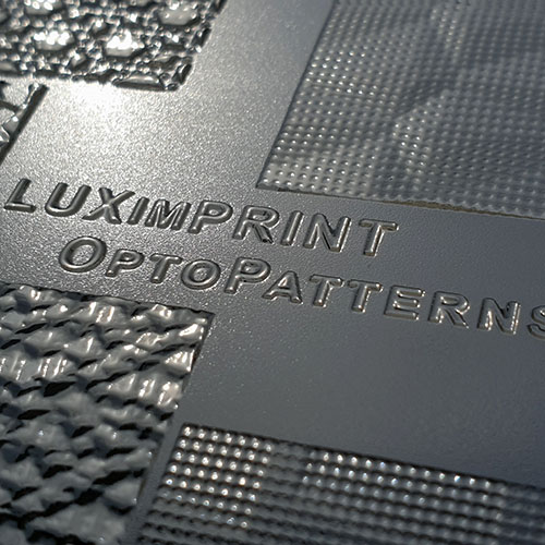 Close up image of OptoPatterns V3 by Luximprint