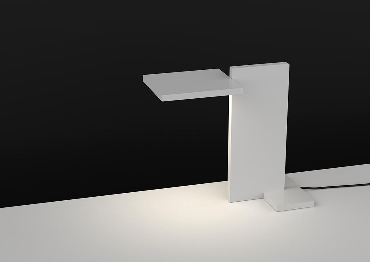 3D render of SDA Planar Task Light for use in Luximprint Inspiration corner