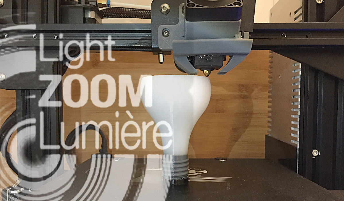 Light Zoom Lumière on 3D Printing for the Lighting Industry