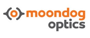 Logo of Moondog Optics for use in Design Hub Profile