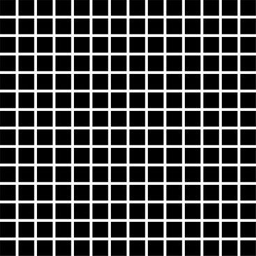 Image of black square pattern to demonstrate Luximprint masking capabilities.